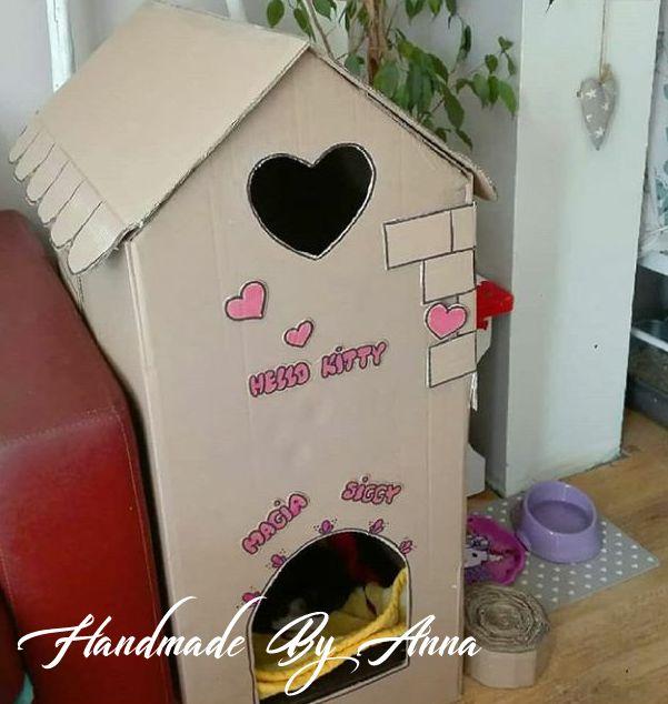 Legowisko – domek dla kotów