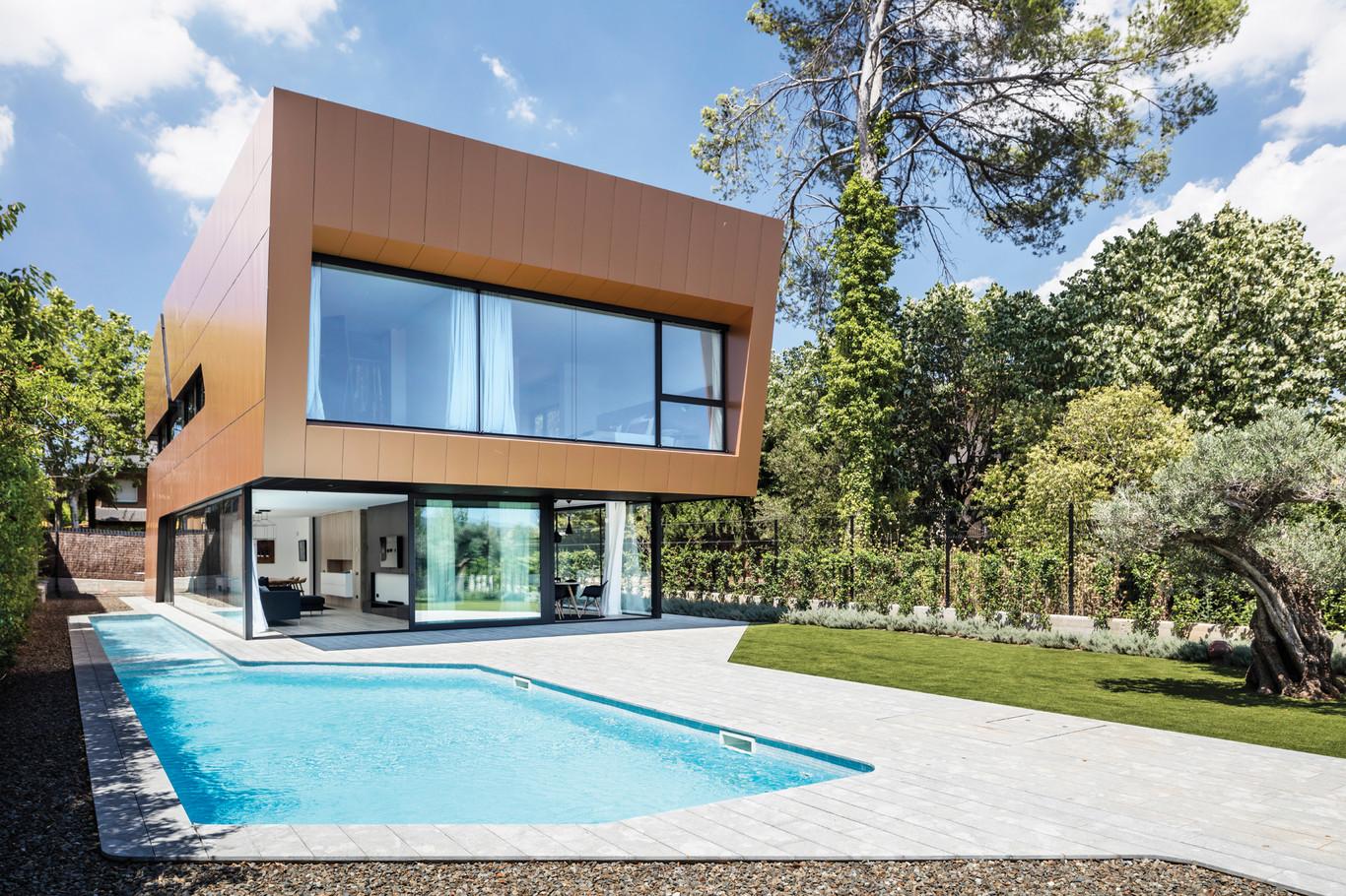casa sostenible de dise o arquima revista arquitectura On diseno de casas y edificios sustentables