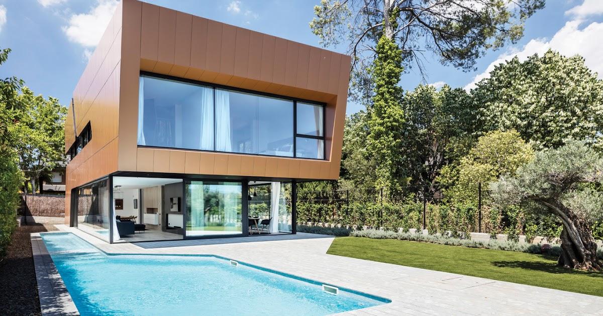 Casa sostenible de dise o arquima blog arquitectura y - Arquitectura y diseno de casas ...
