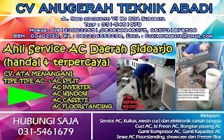 Ahli Service AC Daerah Sidoarjo (handal & terpercaya)