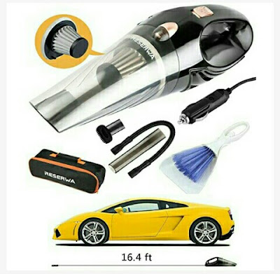 Reserwa Auto Vacuum Cleaner with 4500PA Powerful Suction