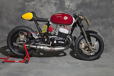 "Bultaco Mercurio 125 ""Calndestina"" by XTR Pepo"