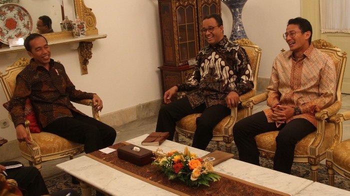 Anies Baswedan bertemu Jokowi di istana