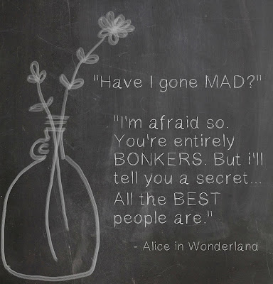 LAMPANDLIGHT Instagram Photochallenge Photograph Photography Quote AliceInWonderland