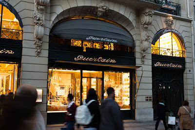 Guerlain flagship store front, 68 Champs-Elysees