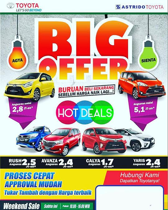 BIG Offer Bersama Astrido Toyota Pondok Gede