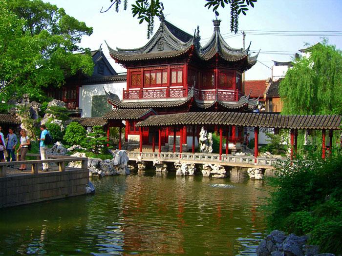 Mirando al mundo con sentimientos el jard n yuyuan en for Jardin de china