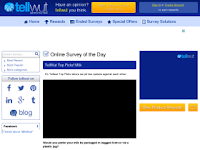 Página de encuestas remuneradas
