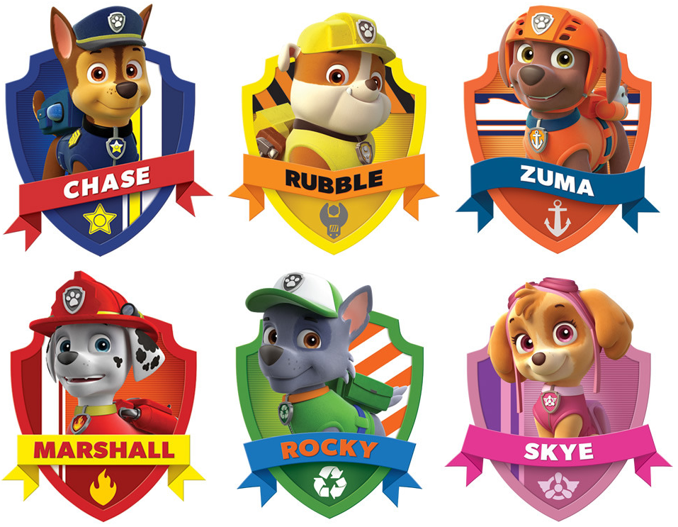 photo about Free Printable Paw Patrol Badges named Paw Patrol Free of charge Printable Package. - Oh My Fiesta! inside of english