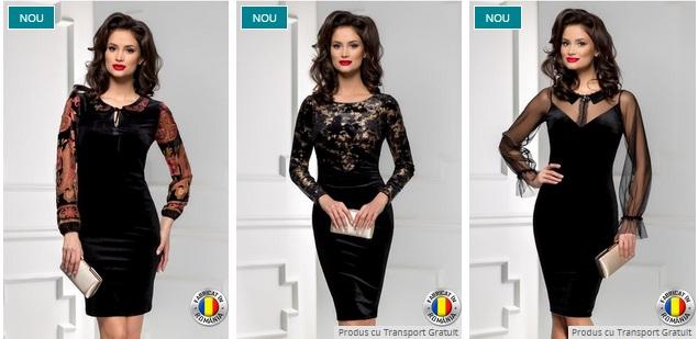 Rochii de catifea elegante, la moda si ieftine