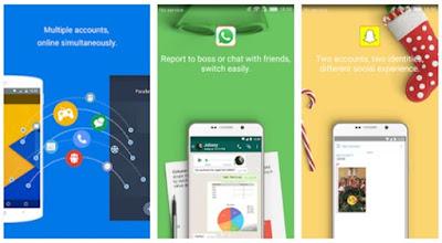 Parallel Space, Aplikasi Untuk Login Dengan Multiple Akun, apps, aplikasi multiple akun, aplikasi android dan ios, iOS, Android, Aplication