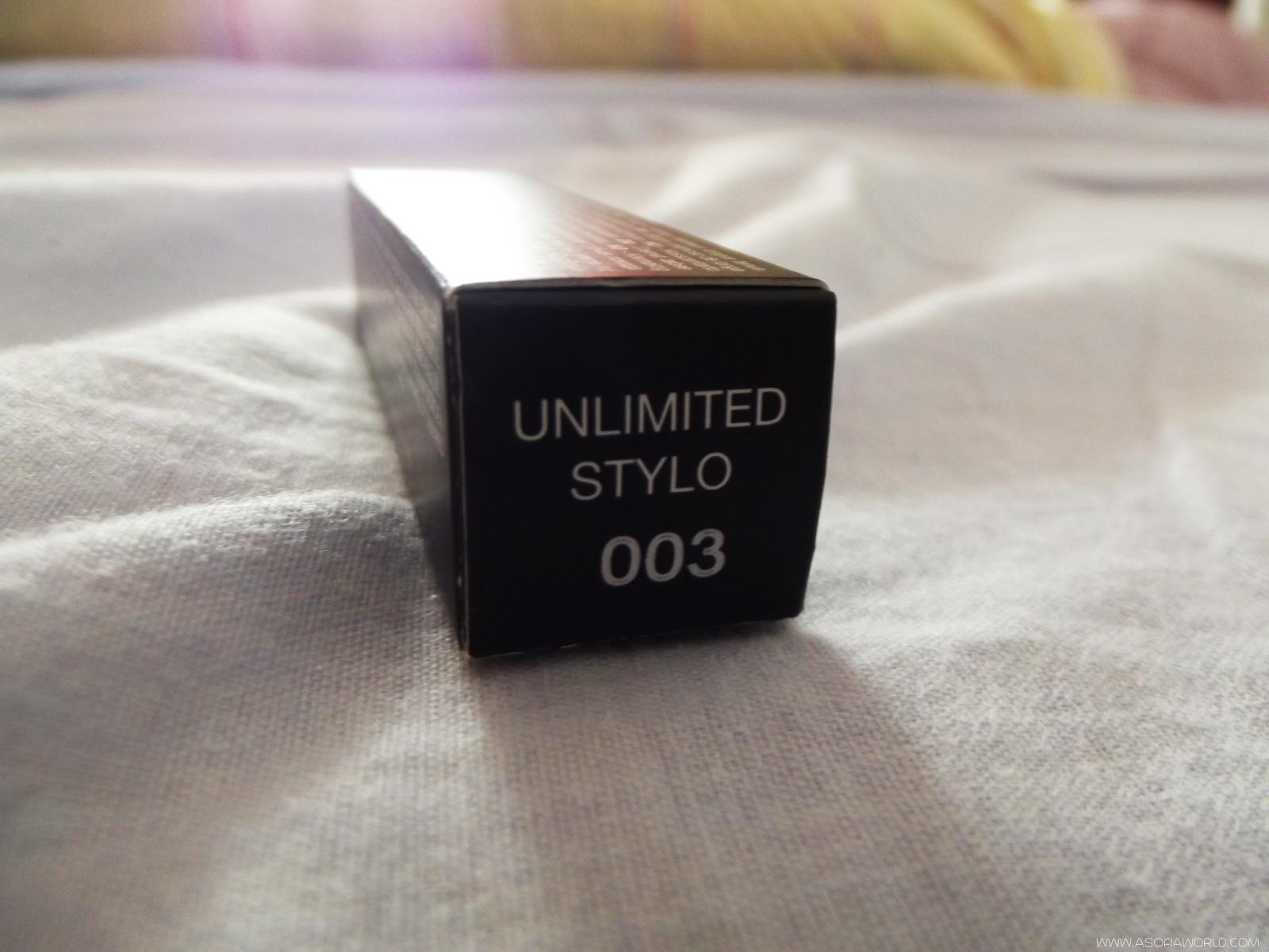Beauty Review: Unlimited Stylo, by Kiko Cosmetics