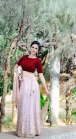 Actress Surabhi Santhosh Portfolio Photo Shoot HeyAndhra