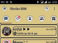 Download BBM Soft Brown v3.0.1.25 MOD  (Full DP) Clone + Unclone Terbaru