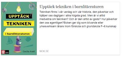 https://www.nok.se/Akademisk/Titlar/Pedagogik/Lararutbildning/Upptack-tekniken-i-barnlitteraturen/