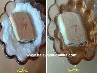 حلوى رولي بجوز الهند