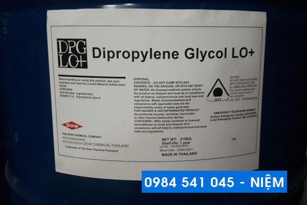 Dung môi pha hương liệu Dipropylene Glycol (DPG)