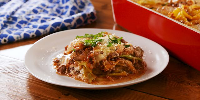 Easy, low carb recipe for lasagna made with cabbage instead of pasta
