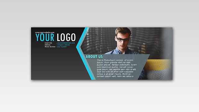 Download FREE PSD Facebook Timeline Cover design for Company and Business Free for Personal and Commercial use