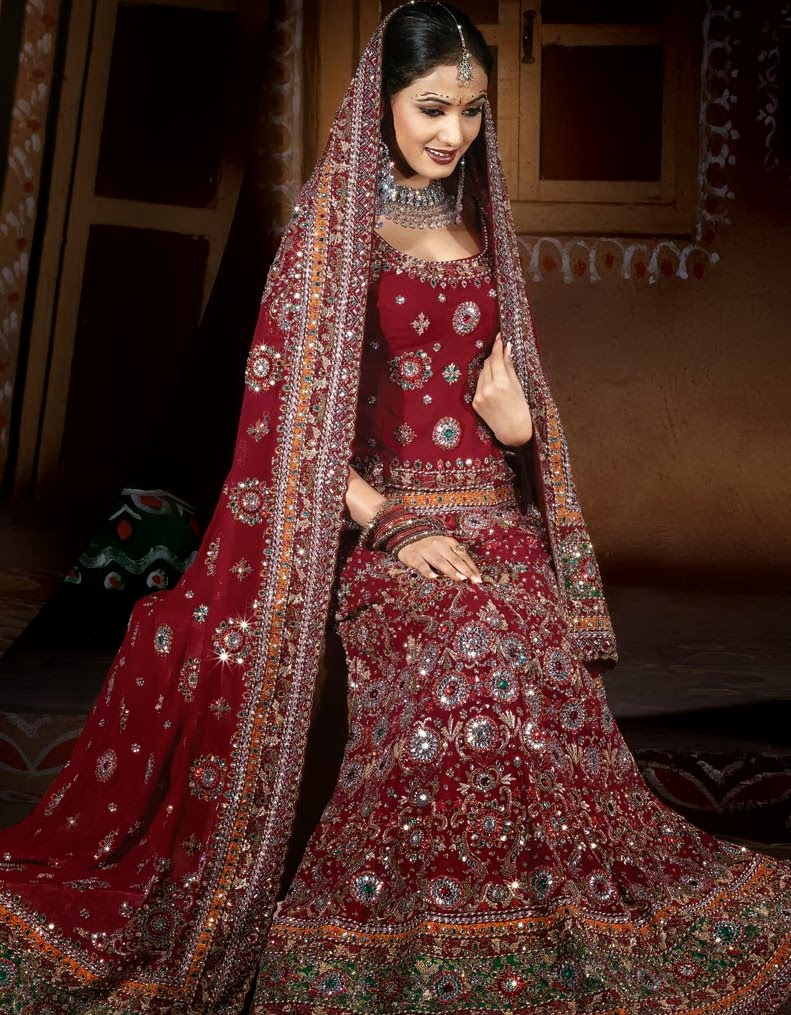 Best pakistani wedding dresses for girls super creative blog for Wedding dress for girl