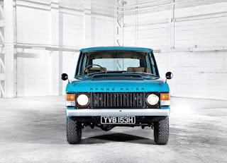 1970 Range Rover Classic 2 Door Front
