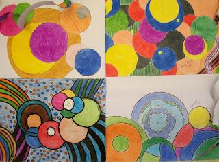 Resultado de imagem para arte com circulos