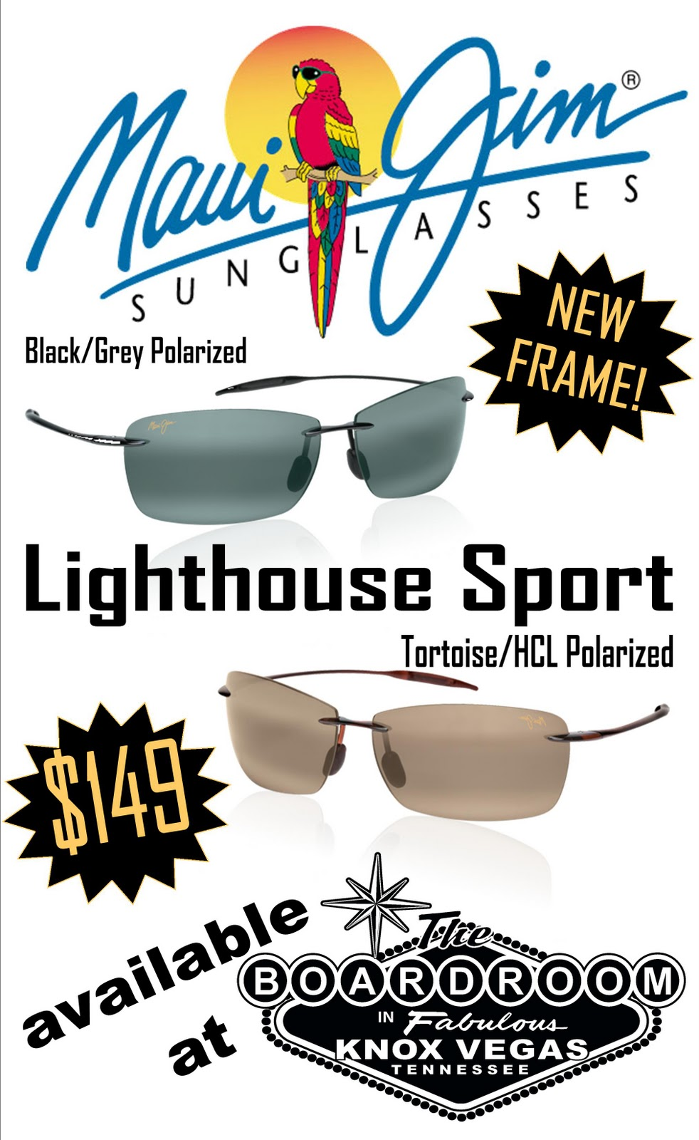 651b0459b5b At $149, the Maui Jim Lighthouse Sport offers lightweight Nylon frames and  Polycarbonate POLARIZED PLUS 2 lenses.