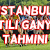 4 Mart 2017 Cumartesi İstanbul Altılı Ganyan Tahmini