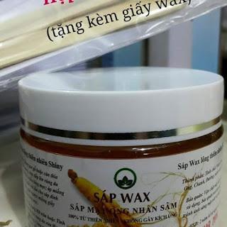 Wax lạnh nhân sâm Shiny
