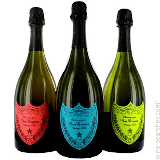 Dom Perignon bottles that Andy Warhol would love