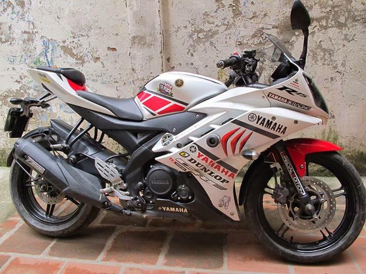 Modifikasi Motor Sport Yamaha R15 150cc Keren Terbaru