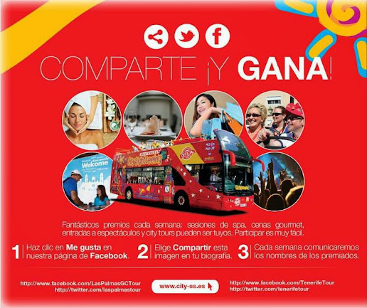 comparte gana city sightseeing facebook
