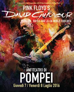 david gilmour - pompei - 2016