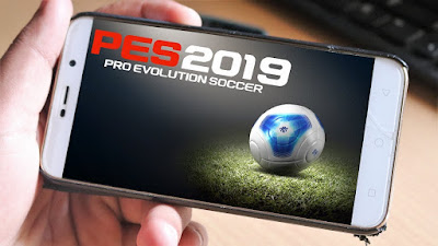 تحميل لعبة PES 2019 علي الاندرويد باخر الانتقالات كامله بدون نقل ملفات