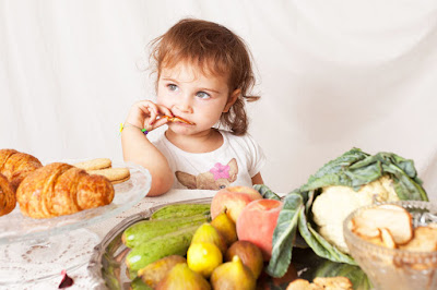 Kids uptake Healthy food