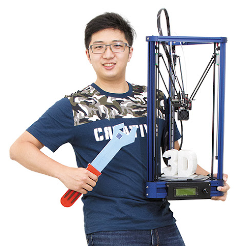 The Maker Workshop創辦人傅孝暘