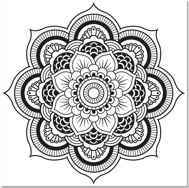 Amazon Mandala Designs Adult Coloring Book  Stressrelieving  Designs Studio  Peter Pauper Press Books