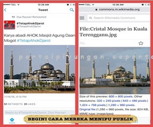 Masjid di Kuala Terengganu Malaysia