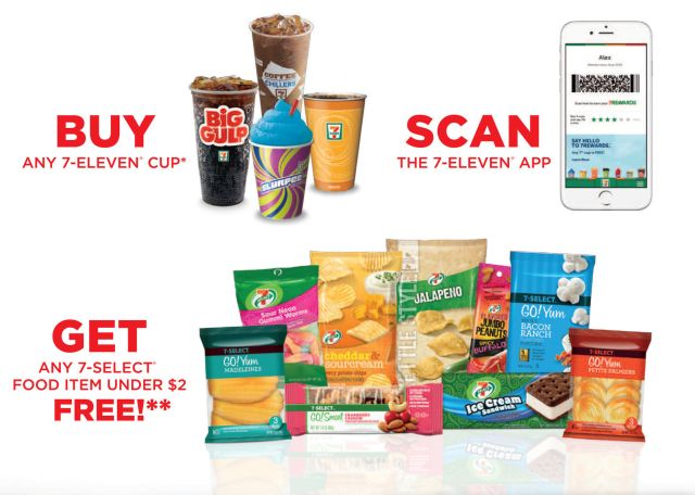 7 Eleven Will Offer Free Food With Every Drink Purchase From April