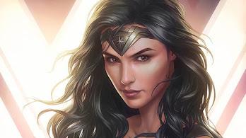 Wonder Woman, DC, 4K, #7.619