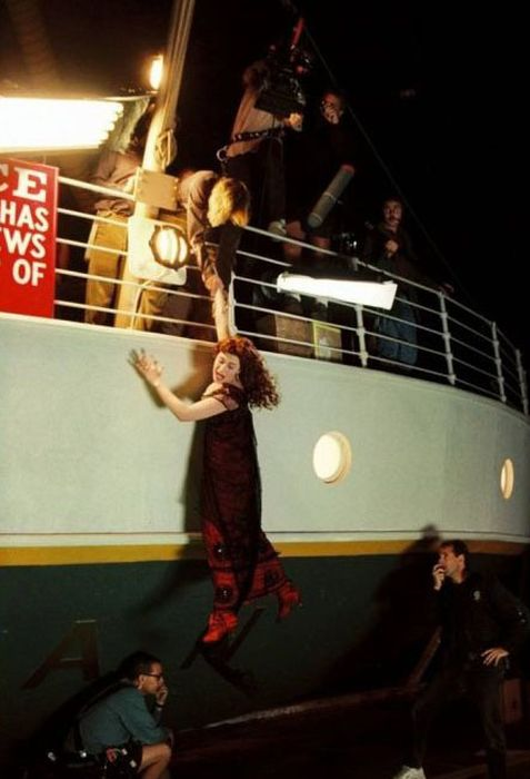 Titanic - Behind the Scenes ~ Damn Cool Pictures