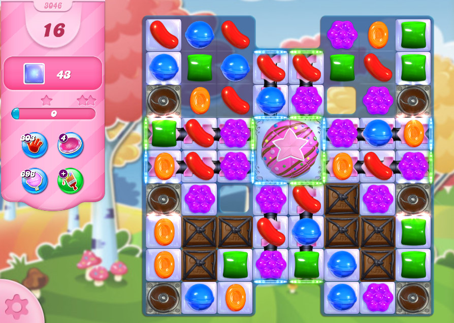 Candy Crush Saga level 3046