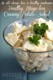 Healthy Potato Salad Recipe - Low Fat, Gluten Free, No Mayonnaise - Chobani Yogurt