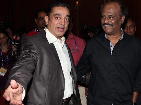 Kamal Hassan & Rajinikanth.