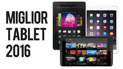 Migliori tablet 10 pollici del 2016 secondo Crowdy Awards