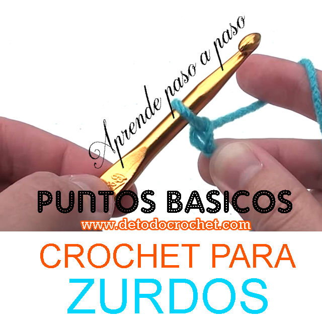 clases de crochet para zurdos- gratis online