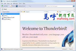 Thunderbird Portable 雷鳥 免安裝綠色版下載,免費好用的收信軟體,可取代 Outlook
