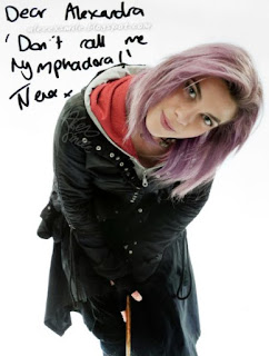 Natalia Tena Nymphadora Tonks Nimfadora Autograph autograf Harry Potter