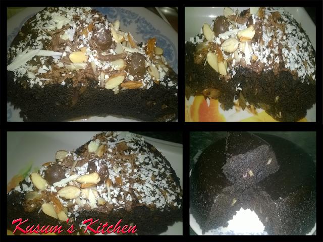 5 minutes oreo cake