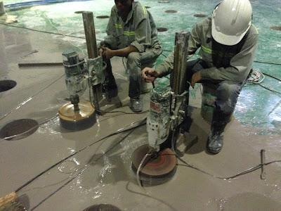 Khoan cắt bê tông tại phường Thới An